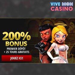 Bonus et promotions de Vivemon Casino